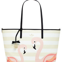 Kate Spade Strut Your Stuff Flamingo Harmony Baby Bag Flamingo Multi