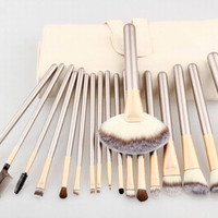 18 pcs Gold Make-Up Brush set