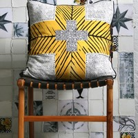 CROSS PAPAYA CUSHION | HOMEWARES | AHOY TRADER