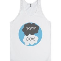 Okay, Okay (The Fault In Our Stars)-Unisex White Tank