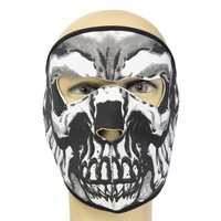 Details about Neoprene FULL Face Reversible Biker Skateboard Motor Bike Scary Sports Mask