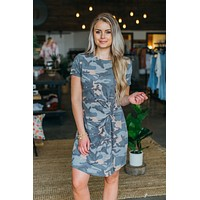 Share Your Love Camo Dress