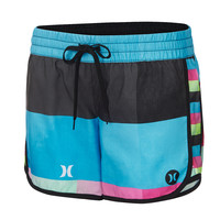 Hurley Women's Supersuede Printed 5-Inch Beachrider Boardshorts
