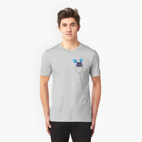 'Pocket Nebby' Classic T-Shirt by Cameron Blenton