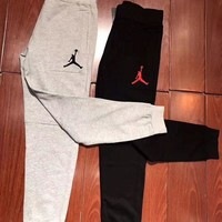 '' Jordan '' fashion casual long sweatpants same style man and woman G