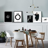 Cuadros Nature Girl Wall Art Canvas Painting Posters And Prints Nordic Decoration Wall Pictures For Living Room No Poster Frame