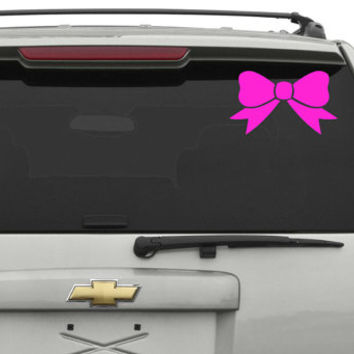 Pretty Bow Car Decal