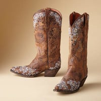 Embroidered Cowgirl Boots