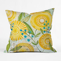Sunny Day Throw Pillow Cover
