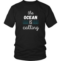 Surf T Shirt - The Ocean is calling