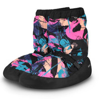 Printed Warm Up Bootie, Bloch, IM009P