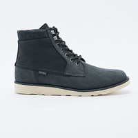 Vans Breton Leather Boots in Black - Urban Outfitters