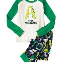 A Is For Alligator Two-Piece Gymmies®