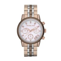 Michael Kors Women's MK5642 Ritz Tri-tone Watch