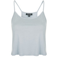 Cropped Cami - Pale Blue