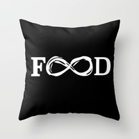 Food Throw Pillow by Poppo Inc. | Society6