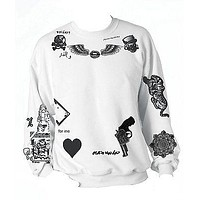 One Direction ZAYN MALIK Tattoo Sweatshirt
