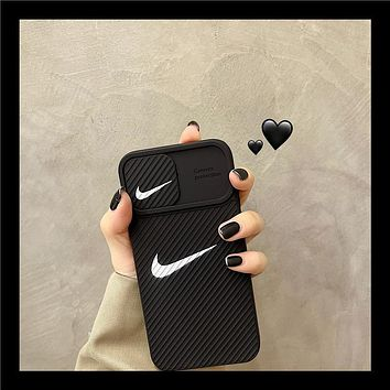 Nike Nike iPhone12promax mobile phone case Apple 11 protective cover x xs lens xsmax xr 8plus 7plus