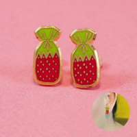 Strawberry Candy Earrings