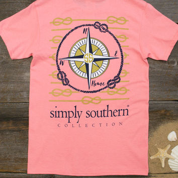 Compass Tee   Simply Southern