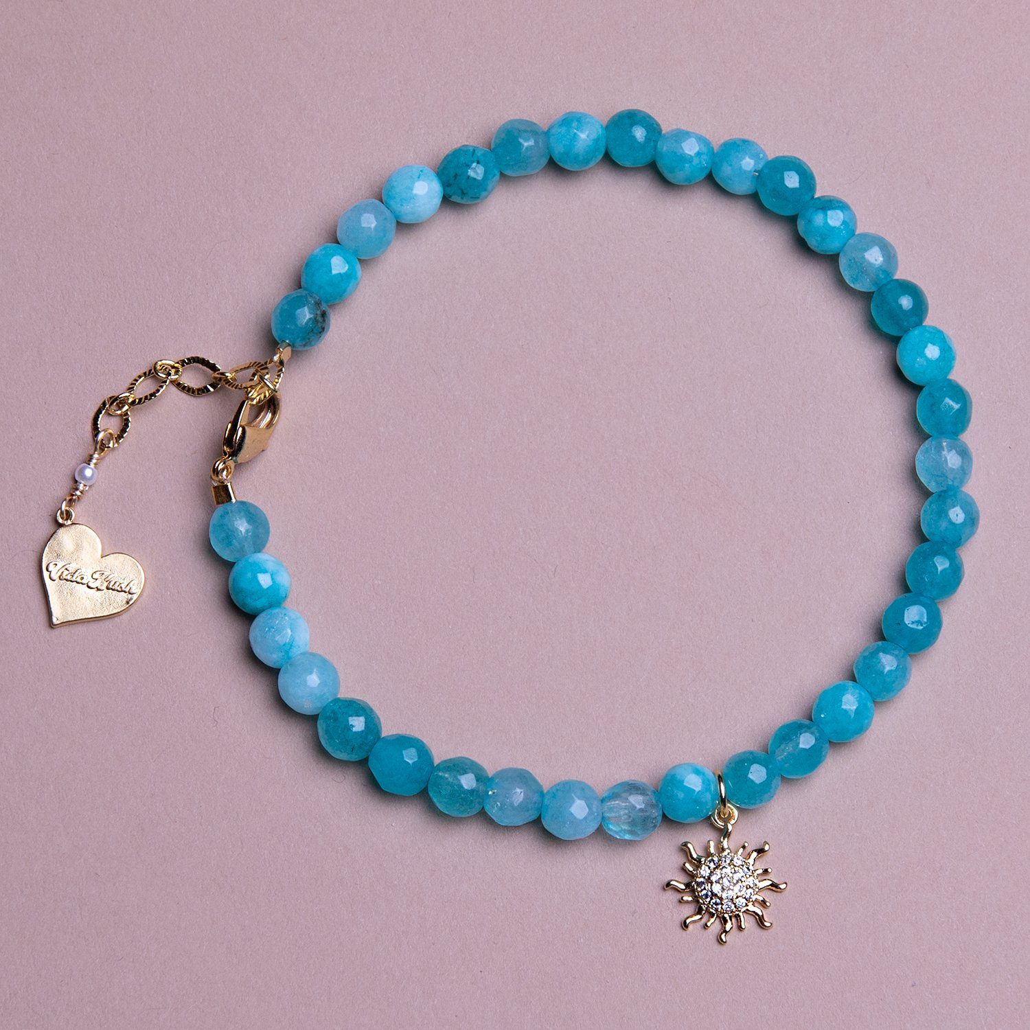 Image of Jade Sun Anklet