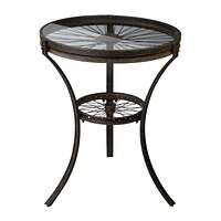 Industrial-Style Side Table