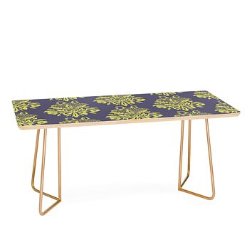 Morgan Kendall green lace Coffee Table