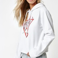 Guess x PacSun Flames Cropped Hoodie at PacSun.com