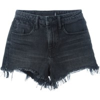 Alexander Wang Destroyed Denim Shorts - Les Market - Farfetch.com