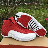 Air Jordan 12 ¡°Gym Red¡± AJ 12 Men Women Basketball Shoes