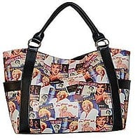 Marilyn Monroe Collage Shopping Bag