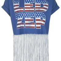 Americana Fringe Tee by And Finally
