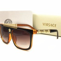 VERSCCE sunglass AA Classic Aviator Sunglasses, Polarized, 100% UV protection [2974244826]