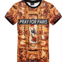 Pray for Paris Shirt
