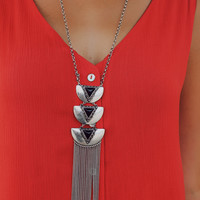 Tranquility Falling Necklace