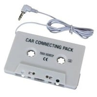 Insten Car Stereo Audio Cassette Tape Adapter for MP3 (iPod Nano (touch (CDs (Nomad (Sansa and Zune