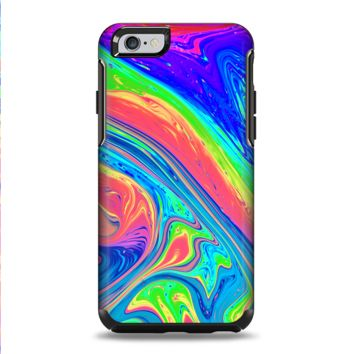 The Neon Color Fusion V9 Apple iPhone 6 Otterbox Symmetry Case Skin