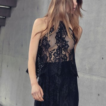 Alexis Guido Sleeveless Lace Top