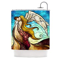 """Kess InHouse Mandie Manzano """"In The Arms of The Angel"""" Shower Curtain, 69 by 70-Inch"""