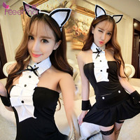 sexy lingerie pole dance backless sexy underwear erotic dresses lingerie sexy costumes Uniform temptation body suits for women