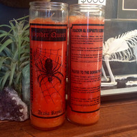 Spider Queen 7 Day Candle