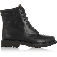 Robert Clergerie - Delbie lace-up leather boots