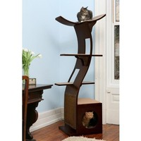 Lotus Cat Towers at Brookstone. Shop now!