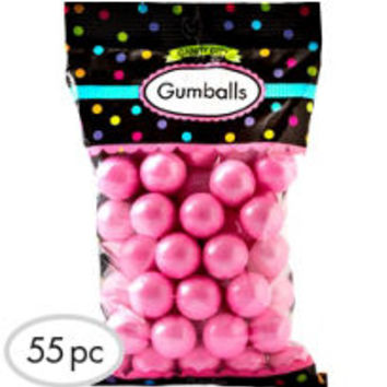 Light Pink Gumballs 56pc- Party City