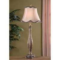 """Crestview Collection Avignon Buffet 36.5"""" H Table Lamp With Bell Shade"""