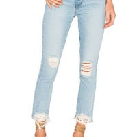 Lovers + Friends Logan High-Rise Tapered Jean in Siena | REVOLVE