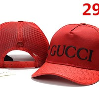 Gucci Embroidered Hat Baseball Cap Hat 2975