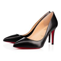 Decollete 554 85 Black Leather - Women Shoes - Christian Louboutin