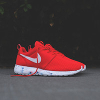 Nike Roshe Run Motion - Challenge Red / White | Sneaker | Kith NYC