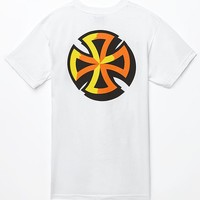 Independent Sign Paint T-Shirt - Mens Tee - White
